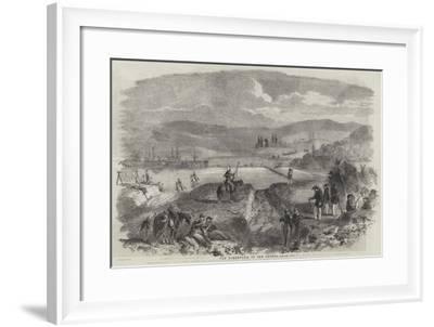 The Tchernaya, in the Crimea--Framed Giclee Print