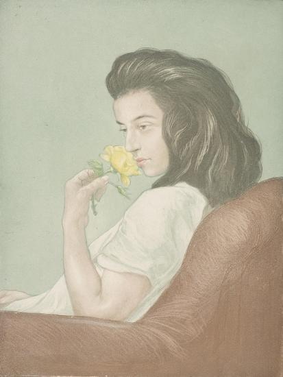 The Tea Rose, C.1900-Antoine Maurin-Giclee Print