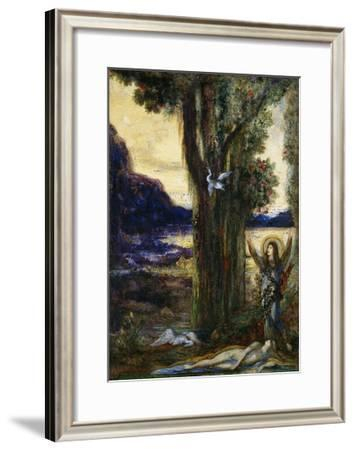 The Tears of Orpheus-Gustave Moreau-Framed Giclee Print