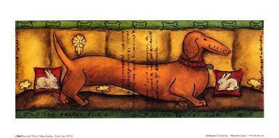 The Teckel Tickle-Aline Gauthier-Art Print