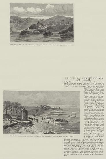 The Telephone Between Scotland and Ireland--Giclee Print