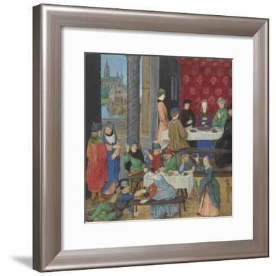 The Temperate and the Intemperate, c.1475-80-Master of the Dresden Prayer Book-Framed Giclee Print