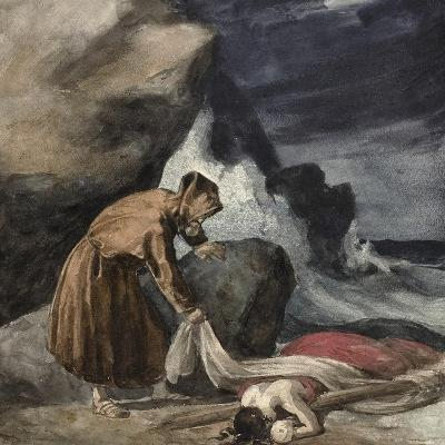 The Tempest, C.1821-23-Theodore Gericault-Giclee Print