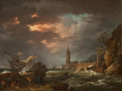 The Tempest-Claude Joseph Vernet-Giclee Print