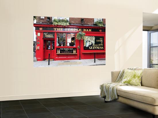 The Temple Bar Pub in Temple Bar Area-Eoin Clarke-Wall Mural