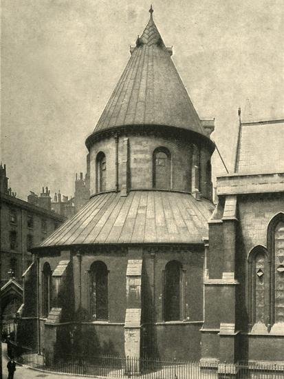 'The Temple Church', 1908-Unknown-Photographic Print