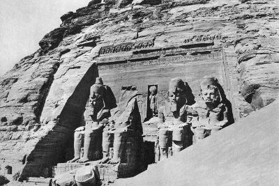 The Temple of Abu Simbel, Egypt, 1936--Photographic Print
