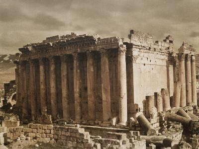 The Temple of Bacchus from the Northwest-Maynard Owen Williams-Photographic Print