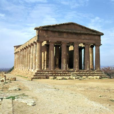 The Temple of Concord on Sicily, 5th Century-CM Dixon-Photographic Print