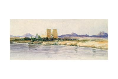 The Temple of Dakka, Nubia, 19th Century-Amelia Edwards-Giclee Print