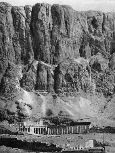 The Temple of Deir-El-Bahari, Egypt, 1936--Photographic Print