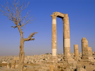 The Temple of Hercules, Amman, Jordan, Middle East-Neale Clarke-Photographic Print