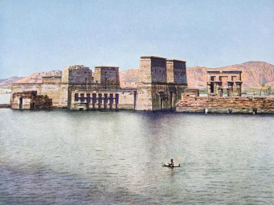 The Temple of Isis at Philae, Egypt, 20th Century--Giclee Print