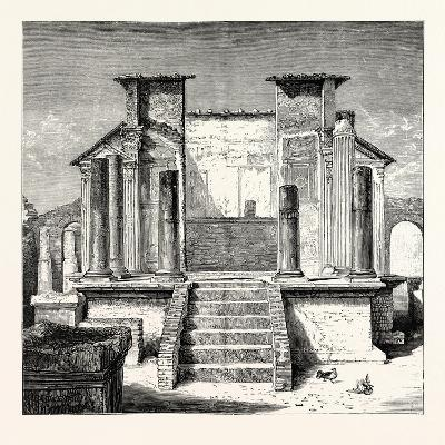 The Temple of Isis Pompeii--Giclee Print