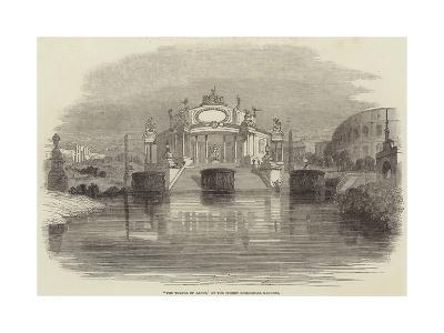 The Temple of Janus, at the Surrey Zoological Gardens--Giclee Print