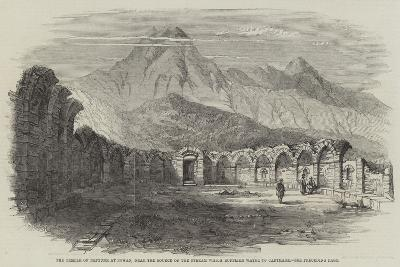 The Temple of Neptune at Zowan, Near the Source of the Stream Which Supplied Water to Carthage--Giclee Print
