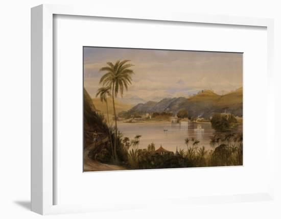 The Temple of the Tooth, Kandy, Ceylon, c.1852-Andrew Nicholl-Framed Giclee Print