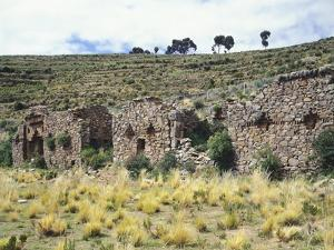 The Temple of the Virgins of the Sun on the Island of the Moon, Lake Titicaca