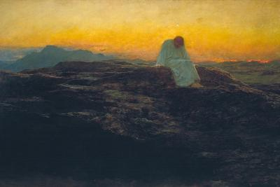 The Temptation in the Wilderness, 1898-Briton Riviere-Giclee Print