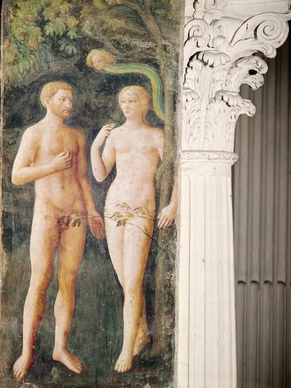 The Temptation of Adam and Eve, C.1423-25-Tommaso Masolino Da Panicale-Giclee Print