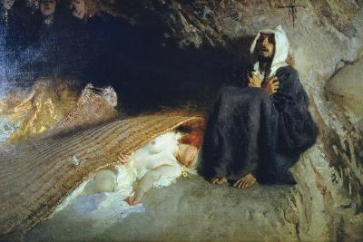 The Temptation of St. Anthony, 1878-Domenico Morelli-Giclee Print