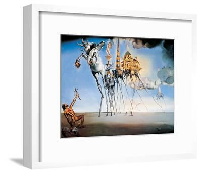 The Temptation of St. Anthony, c.1946-Salvador Dalí-Framed Art Print