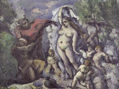 The Temptation of St. Anthony, circa 1875-Paul C?zanne-Giclee Print