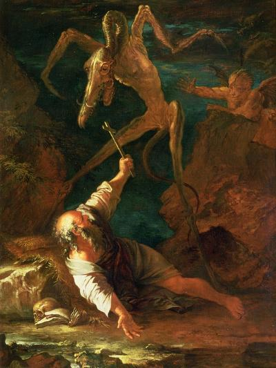 The Temptation of St. Anthony-Salvator Rosa-Giclee Print