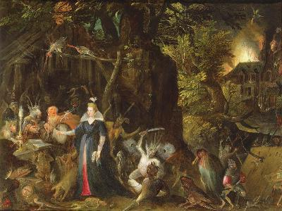 The Temptation of St. Anthony-Gillis van Coninxloo III-Giclee Print