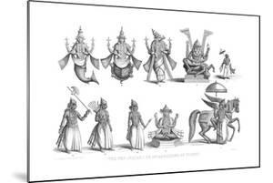 The Ten Avatars or Incarnations of Vishnu, C1880