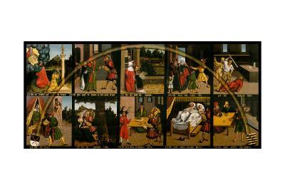 The Ten Commandments-Lucas Cranach the Elder-Giclee Print