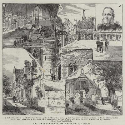 The Tercentenary of Uppingham School--Giclee Print