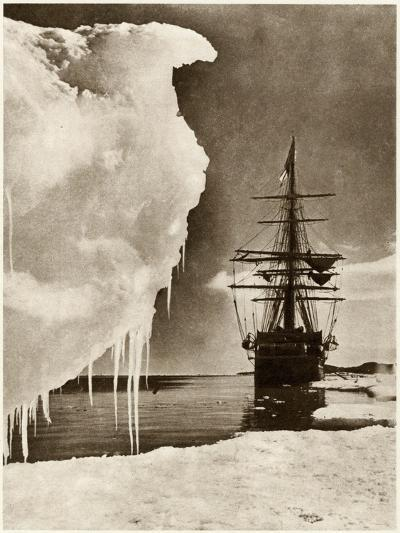 The Terra Nova Expedition-Herbert G Pointing-Photographic Print
