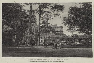 The Terrace Front, Osborne House, Isle of Wight--Giclee Print