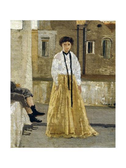 The Terrace-Edoardo Dalbono-Giclee Print