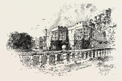 The Terrace--Giclee Print