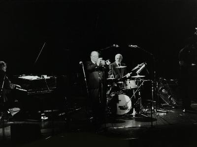 The Terry Lightfoot Band in Concert at Oakmere House, Potters Bar, Hertfordshire, 7 October 1986-Denis Williams-Photographic Print