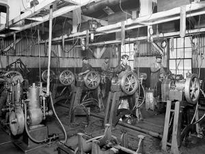 The Testing Room, Leland Faulconer Manufacturing Co., Detroit, Mich.