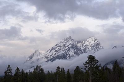 The Teton Range in Grand Teton National Park-Phil Schermeister-Photographic Print