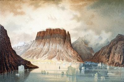 The Teufelschloss Mountain--Giclee Print