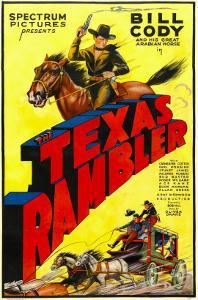 The Texas Rambler, Top Half: Bill Cody, 1935