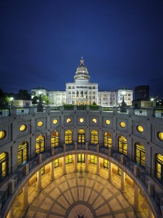 The Texas State Capitol Building in Austin, Texas.-Jon Hicks-Photographic Print