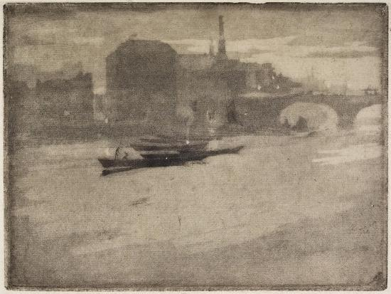 The Thames, 1894-Joseph Pennell-Giclee Print