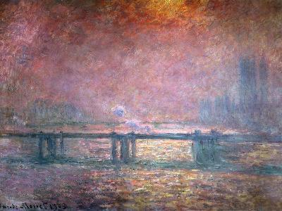The Thames at Charing Cross, 1903-Claude Monet-Giclee Print