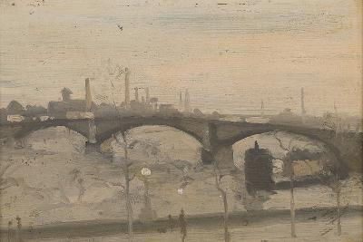 The Thames at Chelsea-William Evelyn Osbourne-Giclee Print