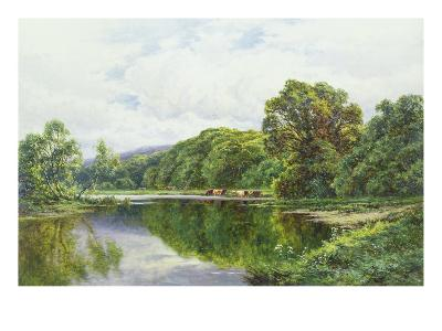 The Thames Near Henley-Henry Parker-Giclee Print