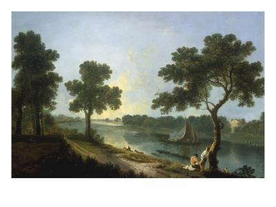 The Thames near Marble Hill, Twickenham-Richard Wilson-Giclee Print