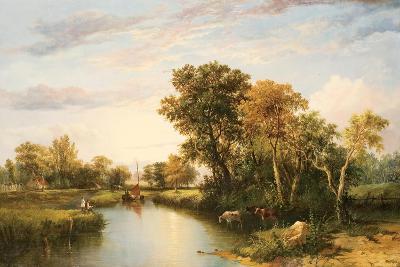 The Thames Valley, 1823-Thomas Miles Richardson-Giclee Print