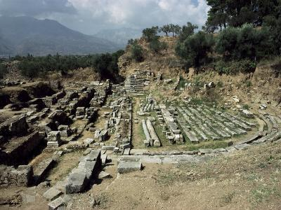 The Theatre at Ancient Sparta, Peloponnese, Greece-Loraine Wilson-Photographic Print
