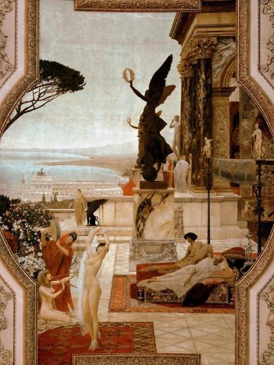 The Theatre in Taormina, 1884-1888-Gustav Klimt-Giclee Print